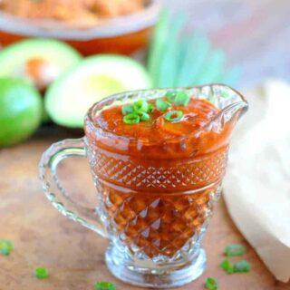 Easy Enchilada Sauce + Enchilada Recipe