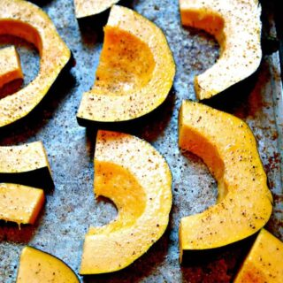 Roasted Acorn Squash {How To}