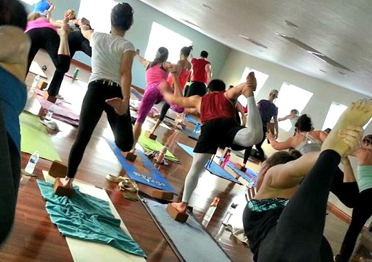 Hot Yoga. A must try!