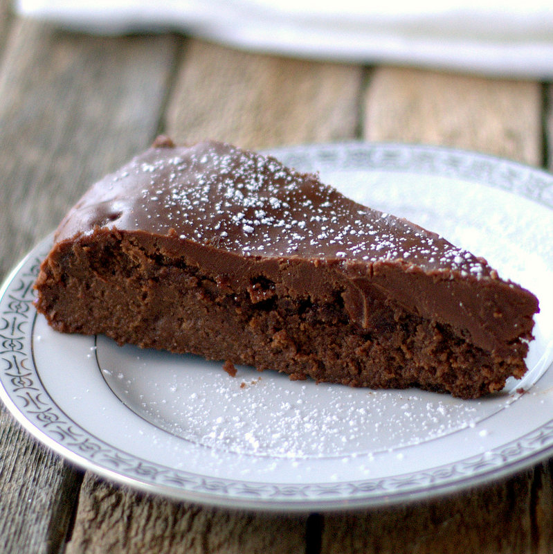 Flourless Chocolate Cake {Gluten-Free}