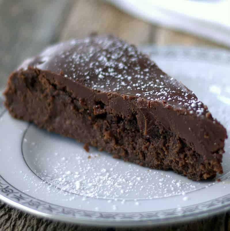 Flourless Chocolate Cake No Coffee