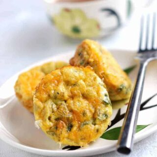 egg bake with sweet potatoes via createkidsclub.com