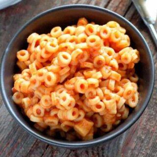 Homemade Spaghetti O's Recipe