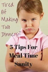 Tired Of Making Two Dinners-