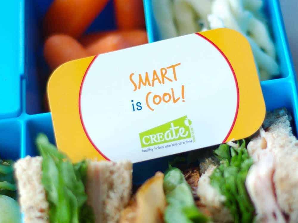 Lunch Bites ™ lunch box note cards via createkidsclub.com