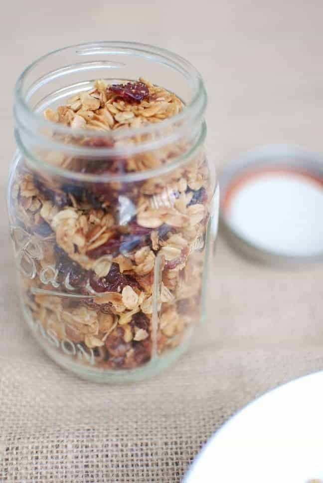 crock pot granola and more crock pot recipes via createkidsclub