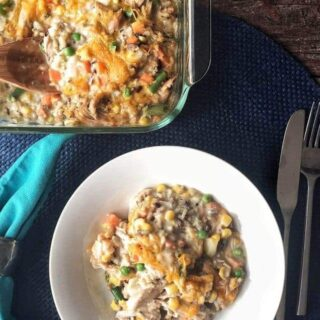 Turkey Rice Casserole