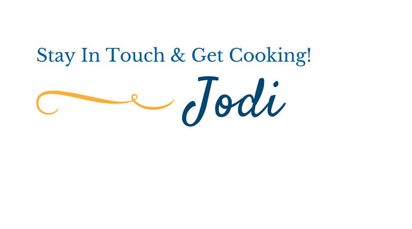 Stay In Touch & Get Cooking!2