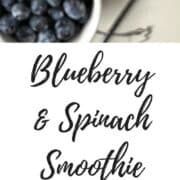 High Fiber Recipes: A superfood smoothie that is packed with nutriiton. Blueberries, banana, and spinach blend together in a delicious and high fiber smoothie perfect for breakfast. Made with yogurt and honey, this is a must try recipe. via createkidsclub.com