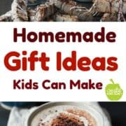 12 homemade gift ideas for kids to make. Gifts of food make great teachers gifts or gifts for special people in your life.