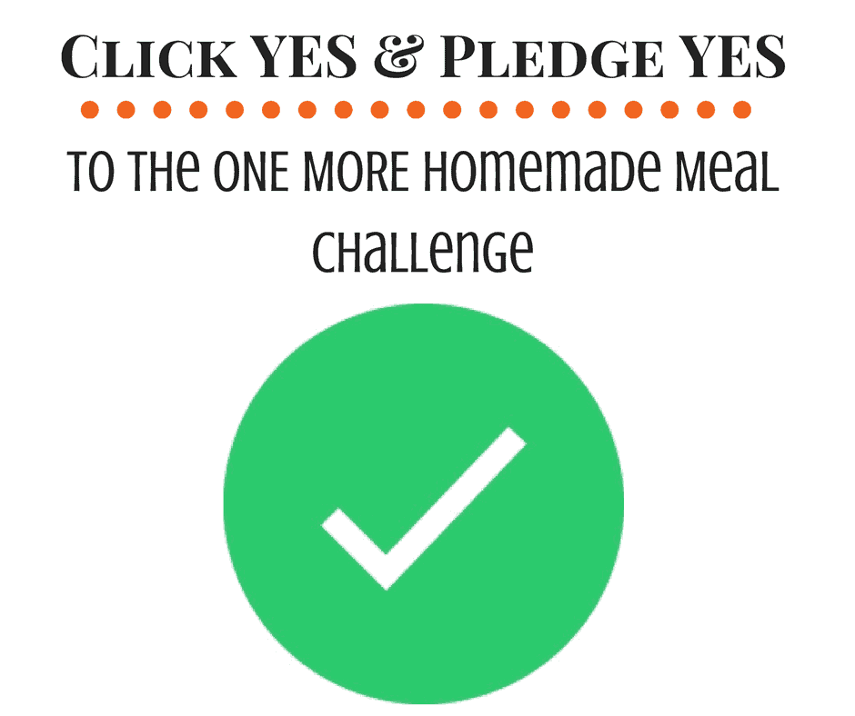 Pledge YES and take the One More Meal Challenge this year. Join the Create Kids Club community and say yes to more meals at home. Take one step towards making healthy habits this year. One more meal at home can save you money and can bring the family closer together by cooking together and sharing another meal at the dinner table. Take the pledge today! @ https://createkidsclub.com