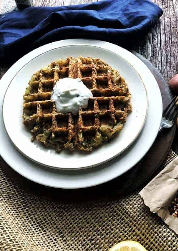 Waffle Hash Browns A Side Dish Or Dinner Entree Create
