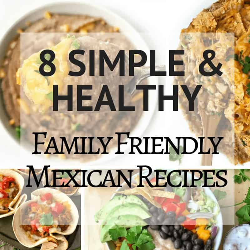 several Mexican recipe photos