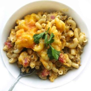One Pot Butternut Squash Mac & Cheese