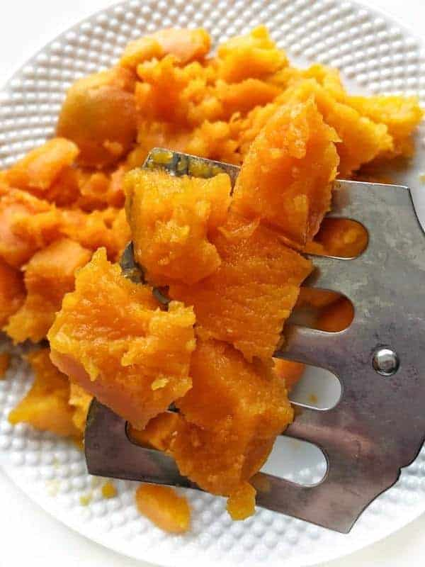 A plate of Butternut squash