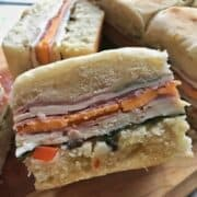 Muffuletta Summer Sandwich Recipes