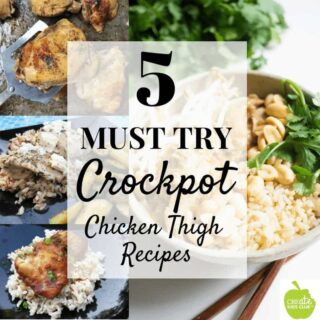 5 Must Try Crock Pot Chicken Thigh Recipes. Take the guesswork out of dinner with these simple, family friendly dinner ideas.