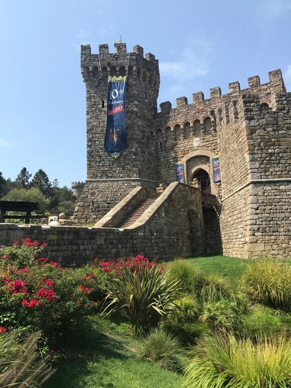 A castle in wine country