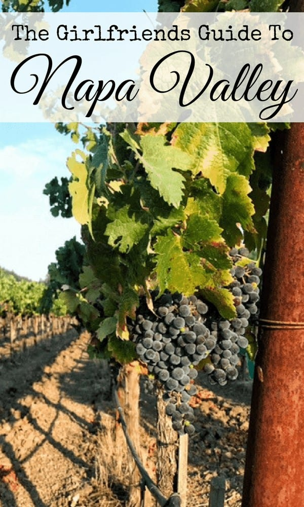 5 Must Visit Wineries in Napa Valley, perfect for the perfect mommy getaway.