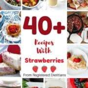 Strawberry Recipes. Learn how to hull a strawberry, health benefits of strawberries, along with over 40 recipes with strawberries. Includes cakes with strawberries, smoothies make with strawberries, and many more kid friendly strawberry recipes.