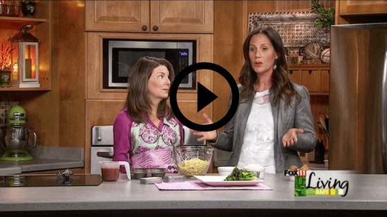 a women on a daytime cooking show