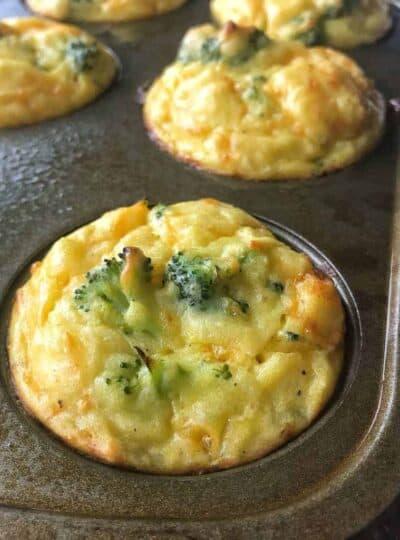 cheesy mashed potato bites with broccoli and cheese photo