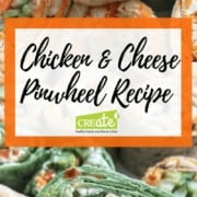 pinwheel recipe with cheese and chicken
