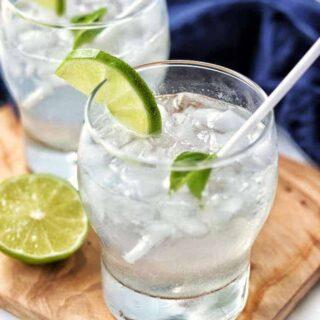 Homemade Lemon Lime Soda Recipe