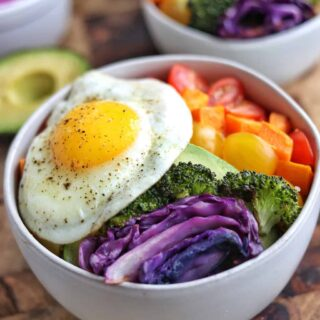 veggie buddha bowl