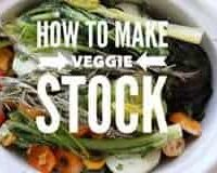 how to make veggie stock words