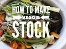 how to make veggie stock words