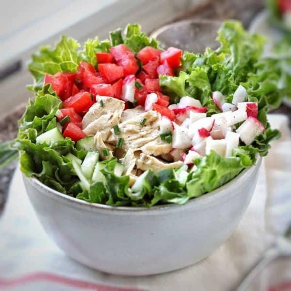 tuna cucumber tomato salad