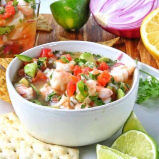 Mexican Shrimp Ceviche Recipe