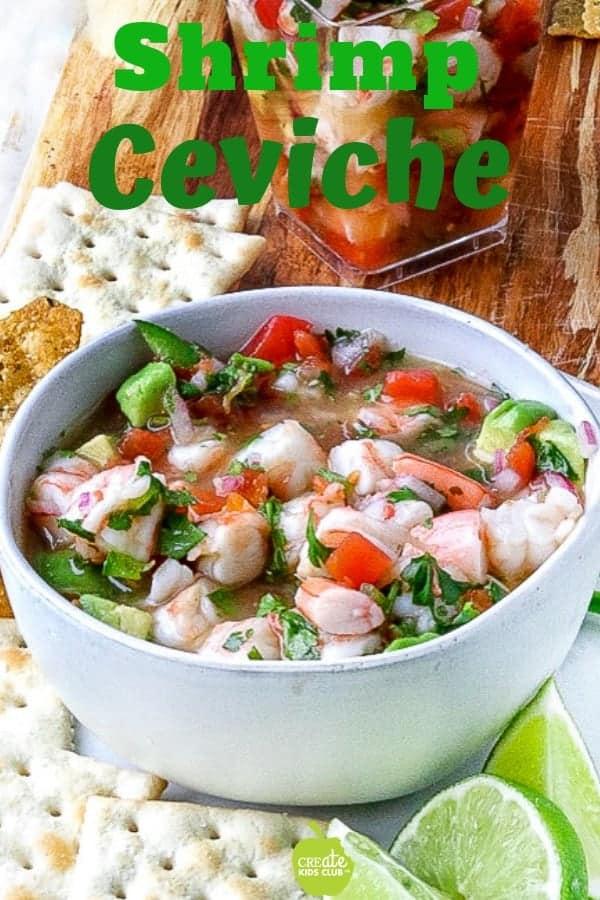 Mexican Shrimp Ceviche Recipe