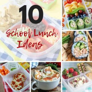 10  Lunch Ideas For School