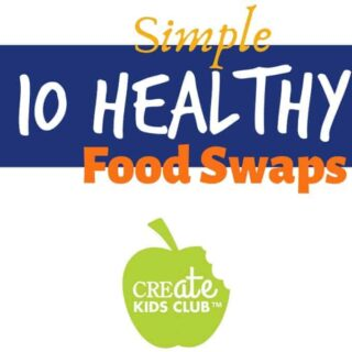 healthy food swaps that provide healthy alternatives to provide better nutrition for your family