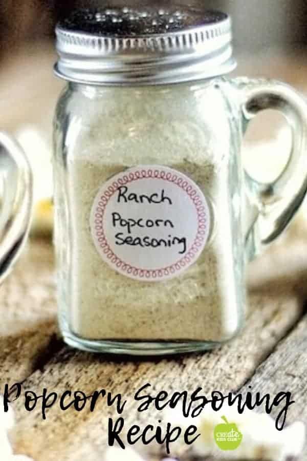 Popcorn seasoning recipe for gourmet flavored popcorn at home