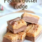 Easy Peanut Butter Fudge Recipe an Old Fashioned Fudge made in the microwave