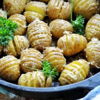 Hasselback potatoes with cheese, oven baked potato slices, best hasselback potatoes