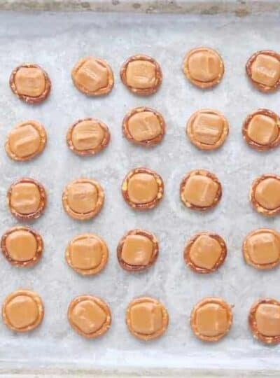 Christmas pretzel treat are a pretzel candy recipe with m&ms an easy dessert recipe