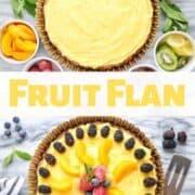 Fruit Flan A Healthy Dessert Idea