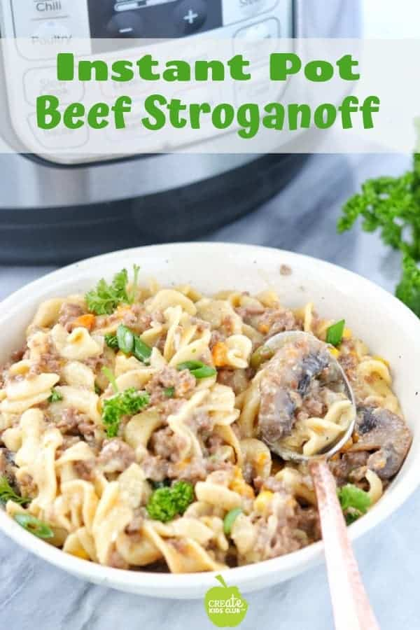 Instant pot beef stroganoff recipe a ground beef stroganoff recipe