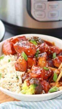 Chinese honey chicken a pressure cooker chicken recipe