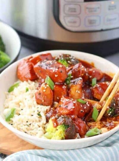 Chinese honey chicken a pressure cooker chicken recipe