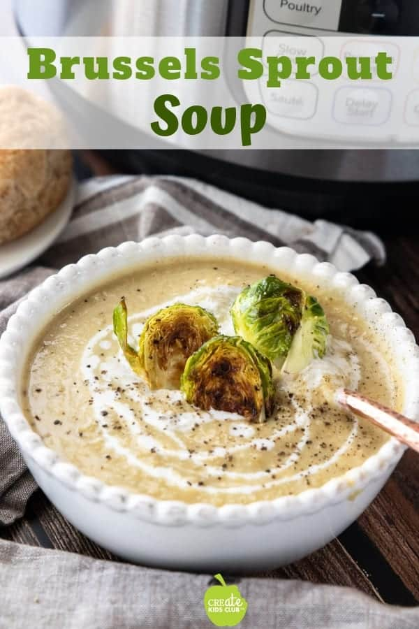 Brussels sprouts Soup Brussels sprout soup, soup recipes