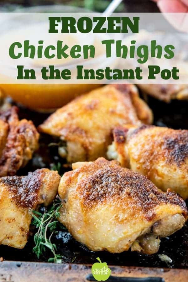 crock pot frozen boneless chicken thighs
