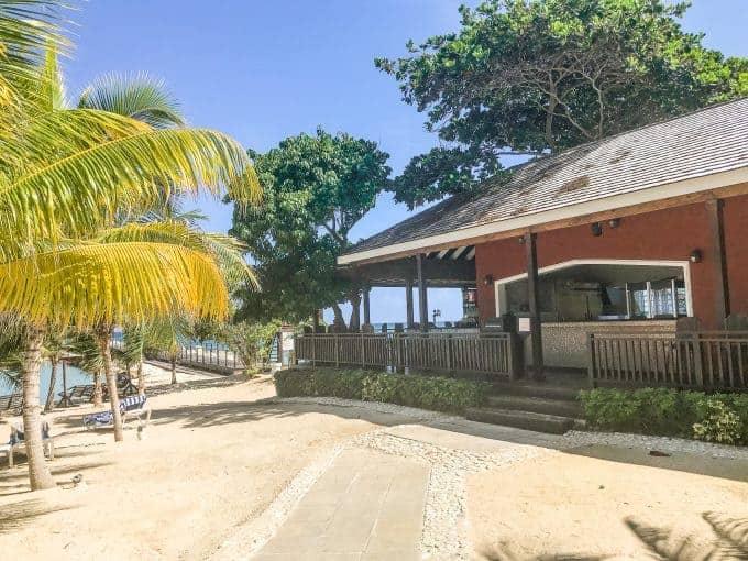 Moonstone at Hilton rose hall resort in jamaica