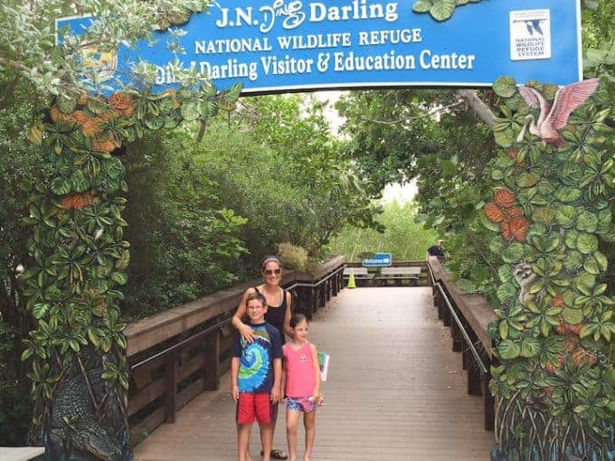 Ding Darling National Wildlife preserve sanibel island