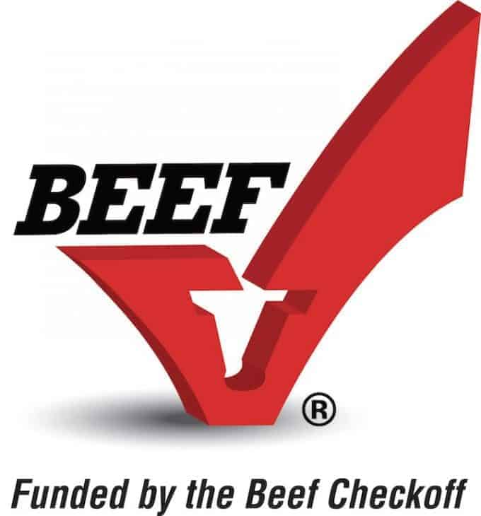 Logo of the beef checkoff
