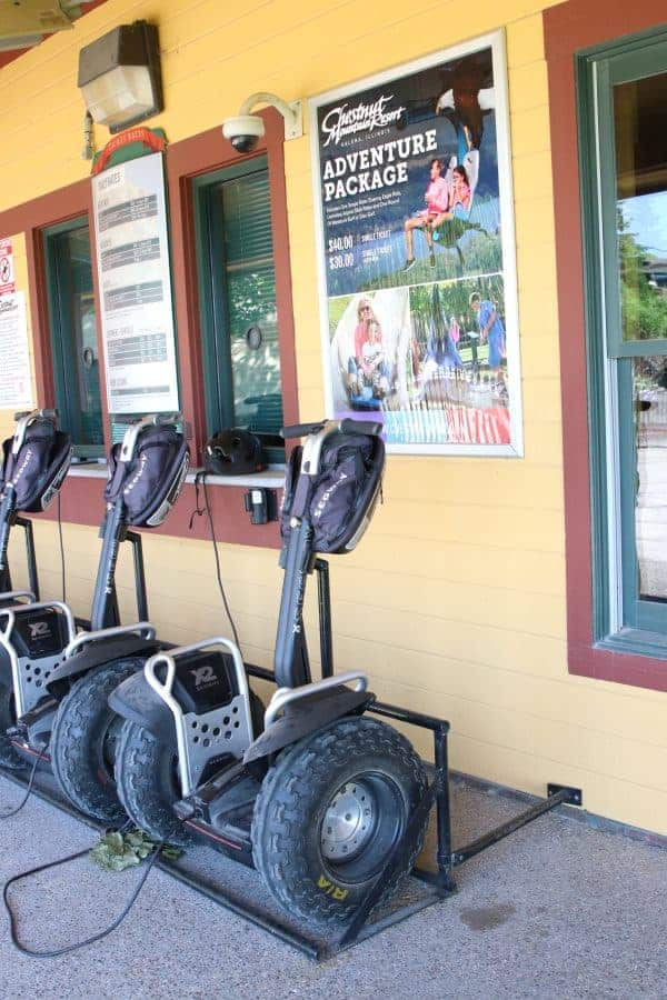 things to do in galena il showcasing Segways at chestnut mountain resort